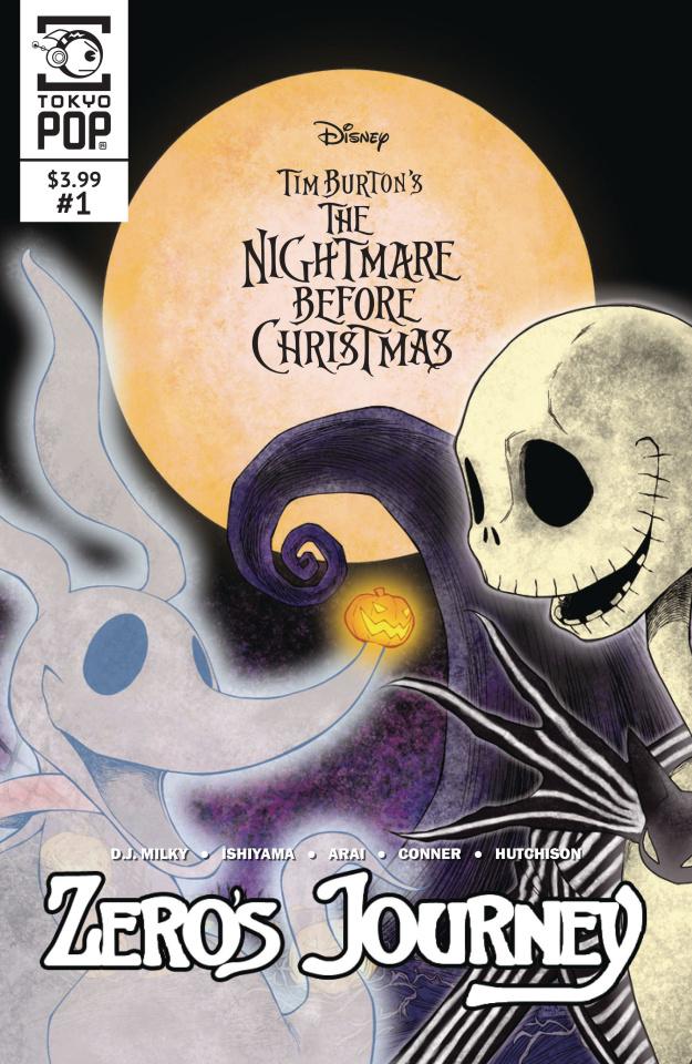 The Nightmare Before Christmas: Zero's Journey #1 (Cover B)