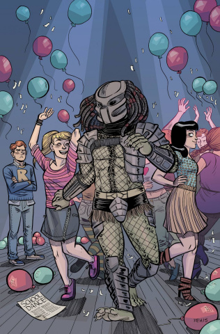 Archie vs. Predator #4 (Hicks Cover)