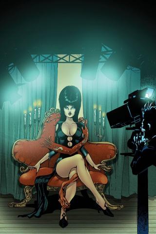 Elvira: Mistress of the Dark #12 (15 Copy Castro Virgin Cover)
