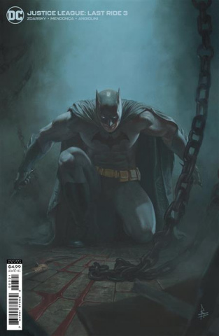 Justice League: Last Ride #3 (Riccardo Federici Card Stock Cover)