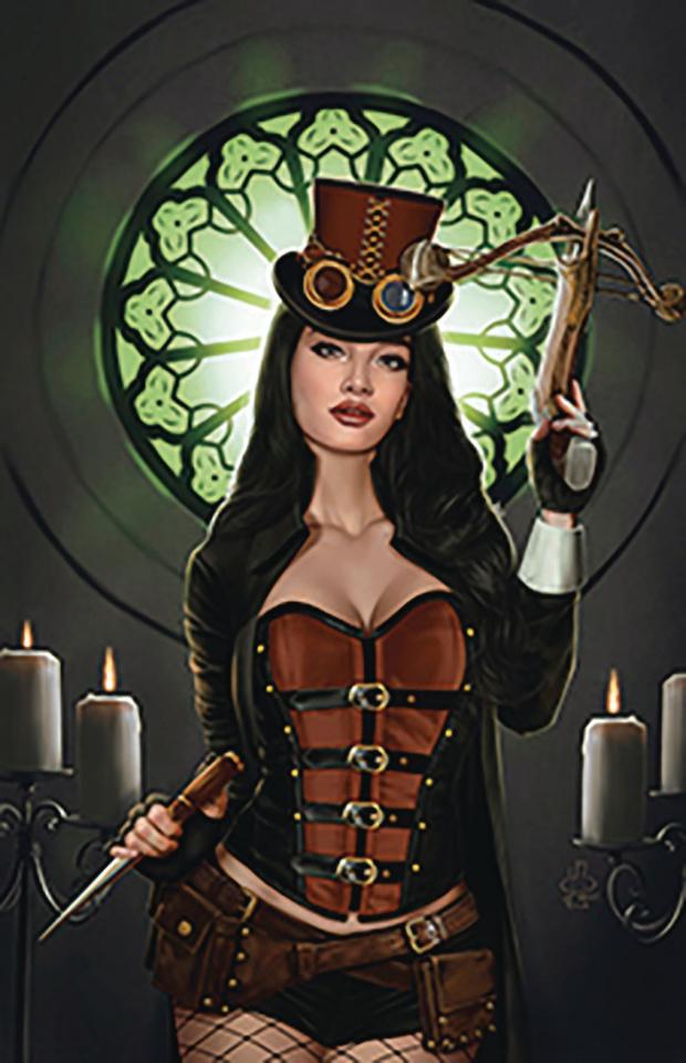 Van Helsing vs. Dracula's Daughter #5 (Jimenez Cover)