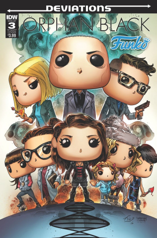 Orphan Black: Deviations #3 (Funko Toy Cover)