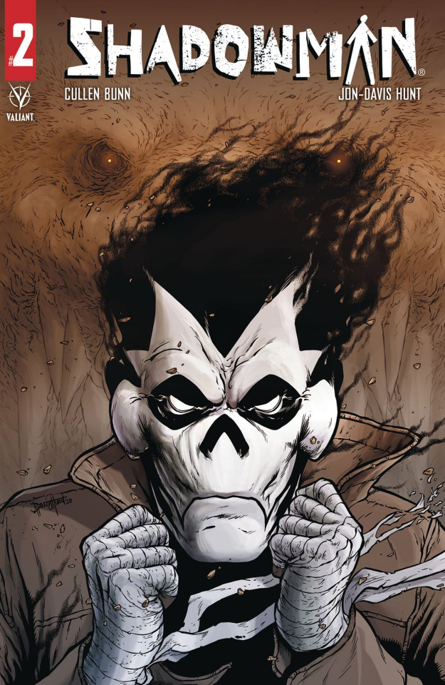Shadowman #2 (Davis-Hunt Cover)
