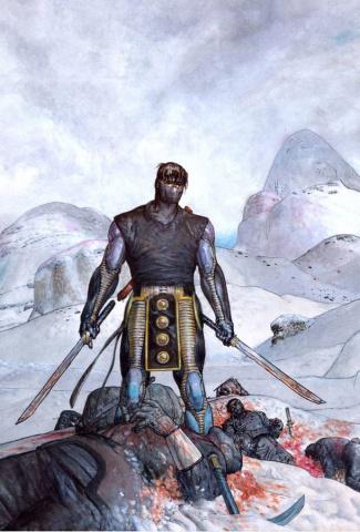 Ninjak #2 (20 Copy Pastoras Cover)