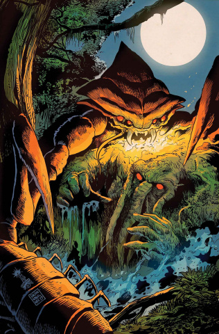 Man-Thing #4 (Ferry Civer)