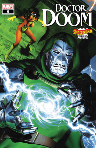 Doctor Doom #6 (Mayhew Spider-Woman Cover)