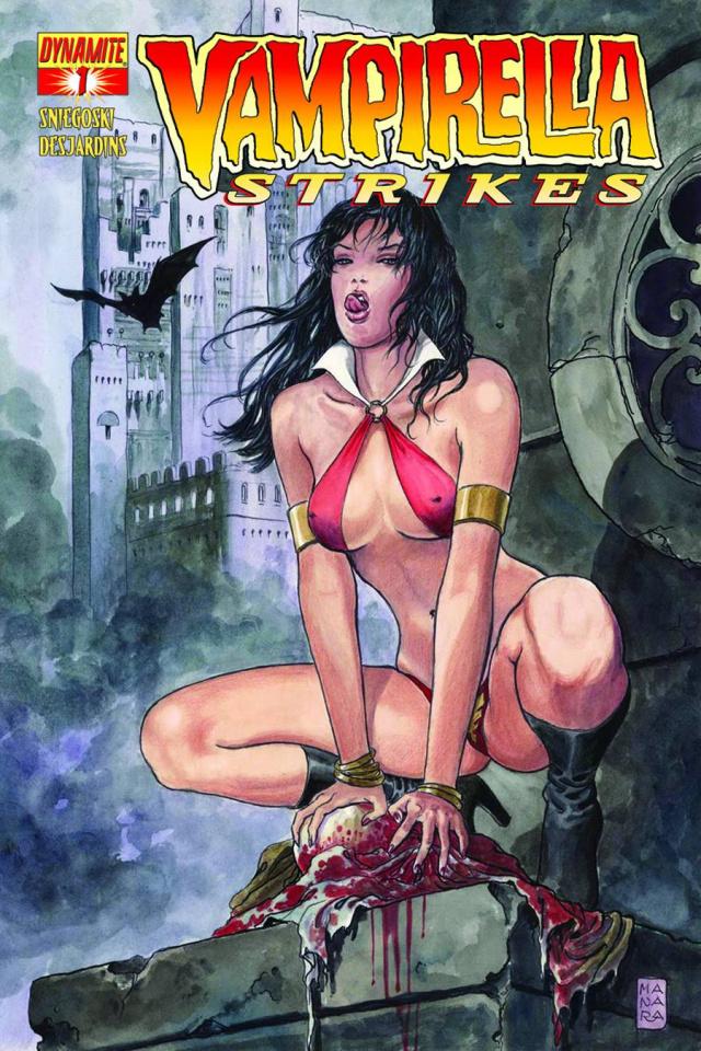Vampirella Strikes #1 (Manara Cover)