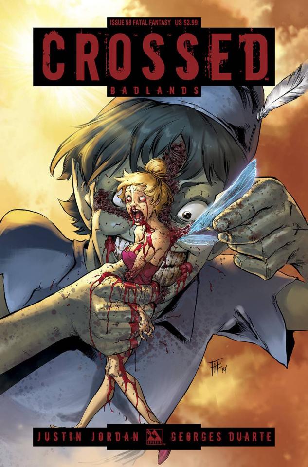 Crossed: Badlands #58 (Fatal Fantasy Cover)
