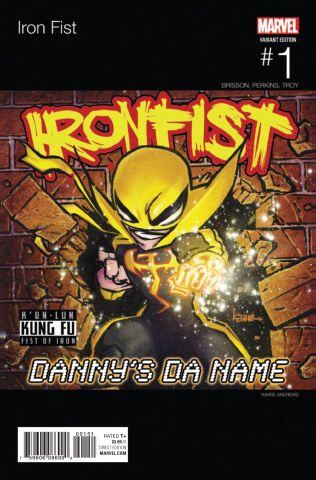 Iron Fist #1 (Andrews Hip Hop Cover)