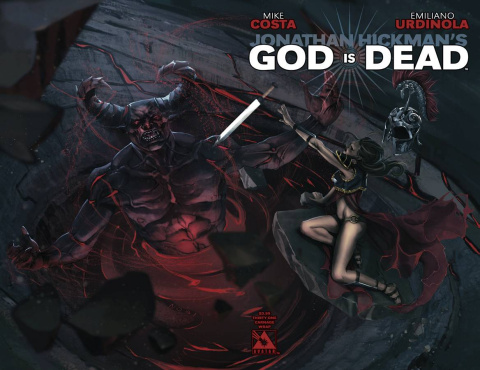 God Is Dead #31 (Carnage Wrap Cover)