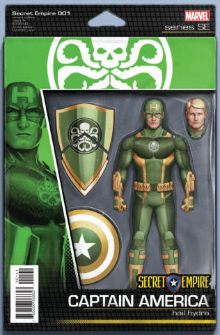 Secret Empire #1 (Christopher Action Figure Cover)