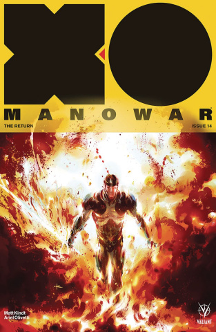 X-O Manowar #14 (20 Copy Grant Cover)