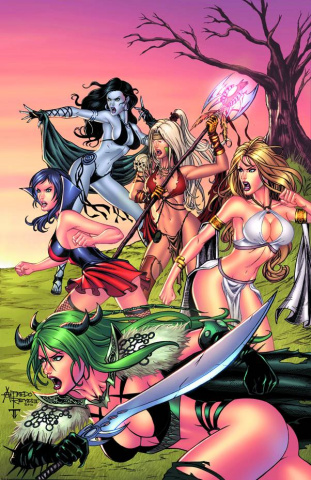Grimm Fairy Tales: Bad Girls #5 (Reyes Cover B)
