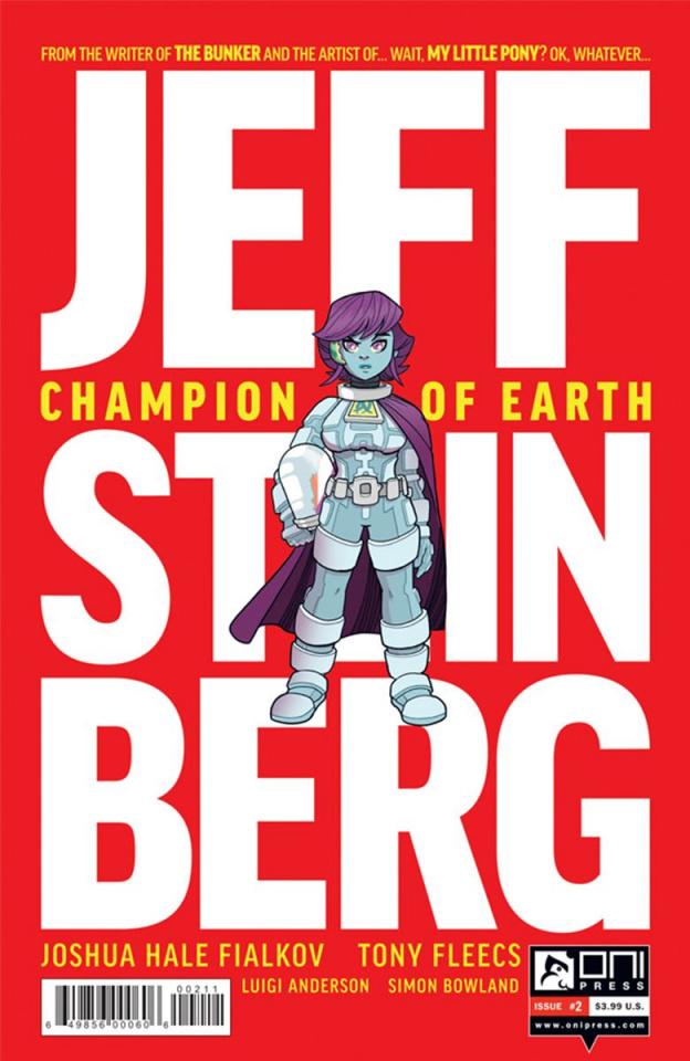 Jeff Steinberg: Champion of Earth #2