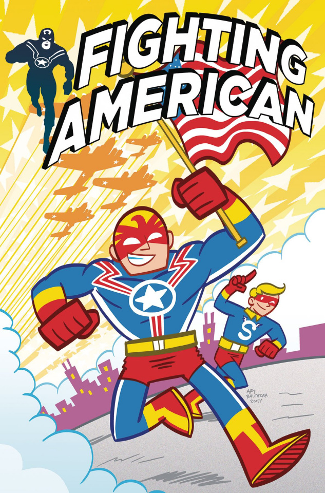Fighting American #3 (Balthazar Cover)