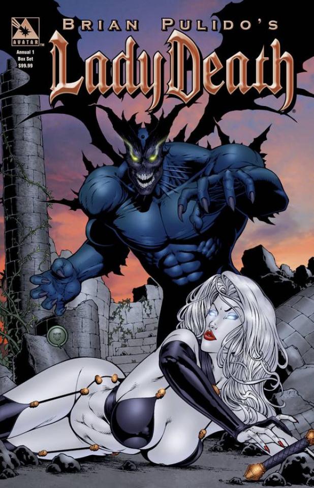 Lady Death Origins Annual #1 (Collectors Box Set)