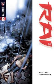 Rai #8 (Crain Cover)