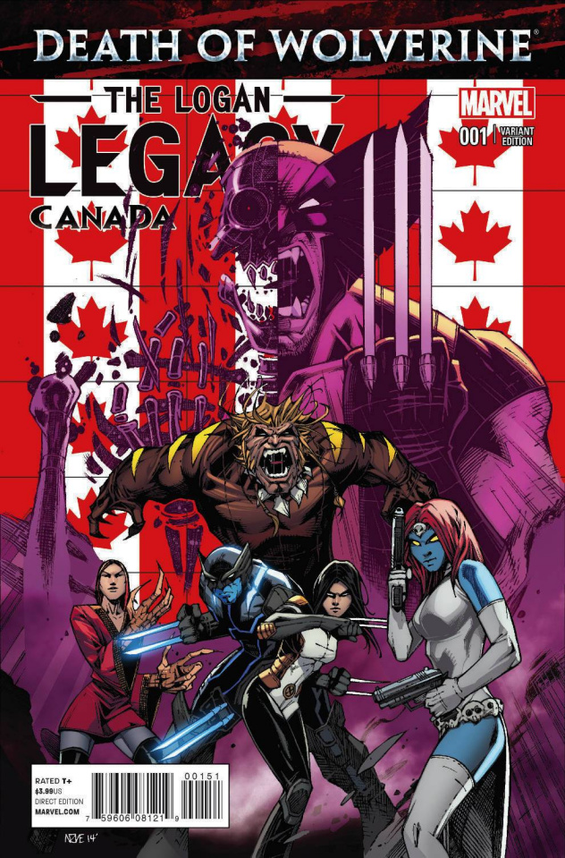 Death of Wolverine: The Logan Legacy #1 (Canada Cover)
