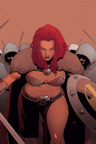 Red Sonja #11 (40 Copy Pham Virgin Cover)