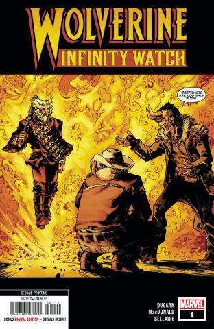 Wolverine: Infinity Watch #1 (MacDonald 2nd Printing)