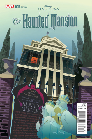 The Haunted Mansion #5 (Morris Cover)
