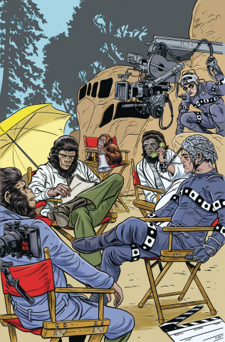 Planet of the Apes: The Simian Age #1 (Allred Cover)