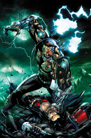 Grimm Fairy Tales: Van Helsing vs. Frankenstein #4 (Riveiro Cover)