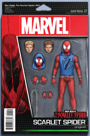 Ben Reilly: The Scarlet Spider #1 (Christopher Action Figure Cover)