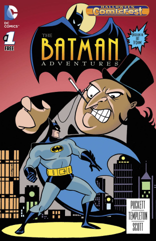 The Batman Adventures #1 (Halloween Comic Fest 2015)