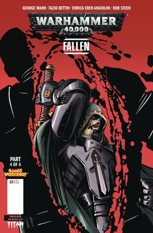 Warhammer 40,000: Fallen #4 (Williamson Cover)