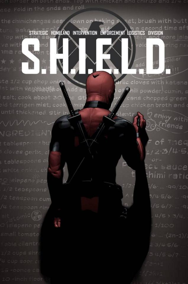 S.H.I.E.L.D. #1 (Deadpool Party Cover)