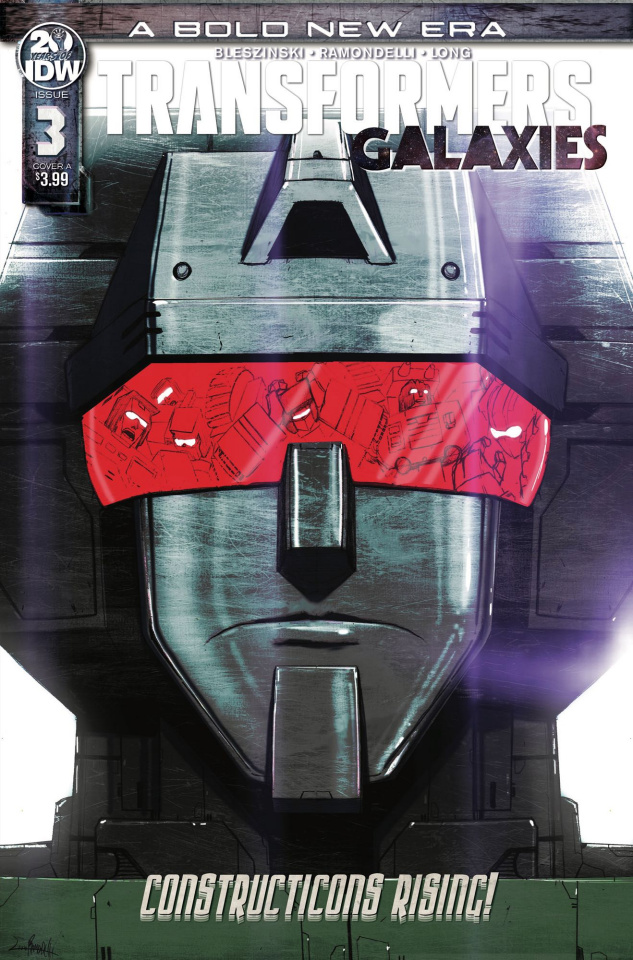 The Transformers: Galaxies #3 (Ramondelli Cover)