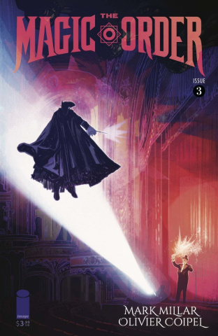 The Magic Order #3 (Edwards Cover)