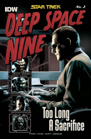 Star Trek: Deep Space Nine - Too Long A Sacrifice #2 (10 Copy Woodward Cover)
