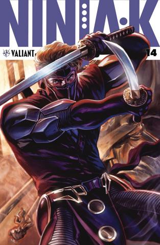 Ninja-K #14 (Massafera Cover)