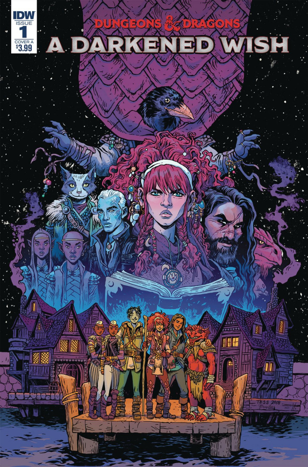 Dungeons & Dragons: A Darkened Wish #1 (Fowler Cover)
