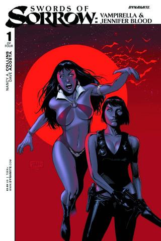 Swords of Sorrow: Vampirella & Jennifer Blood #1