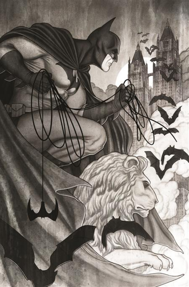 Batman: Black & White #5 (Jenny Frison Cover)