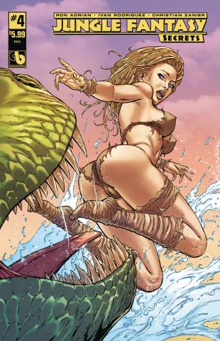 Jungle Fantasy: Secrets #4 (Ivory Cover)