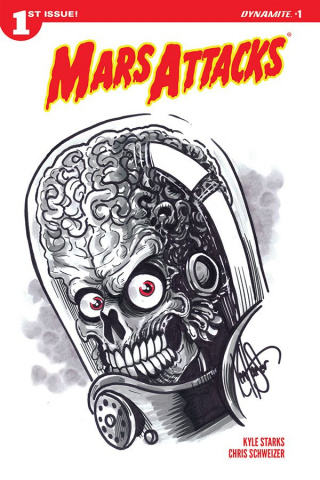 Mars Attacks #1 (Haeser Remarked Cover)