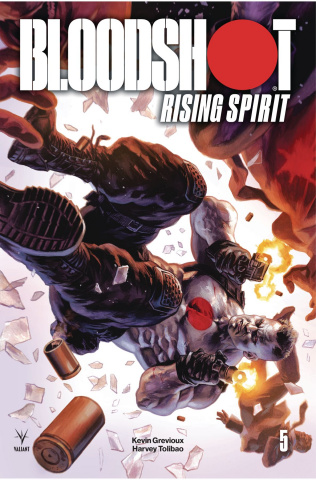 Bloodshot: Rising Spirit #5 (Massafera Cover)