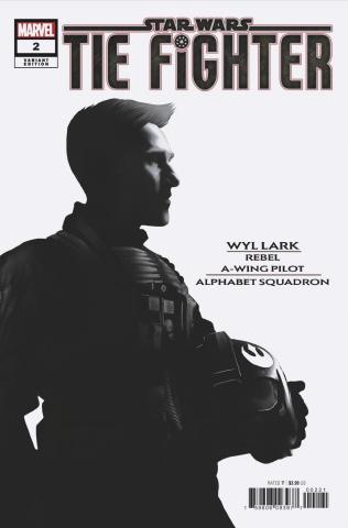 Star Wars: TIE Fighter #2 (Langevin Alphabet Squad Cover)