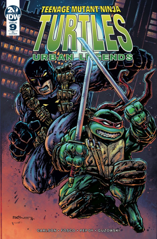 Teenage Mutant Ninja Turtles: Urban Legends #9 (10 Copy Eastman Cover)