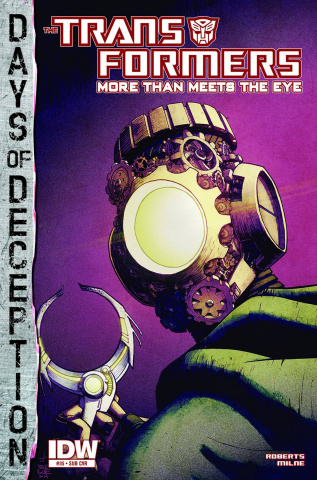 The Transformers: More Than Meets the Eye #35 (Subscription Cover)