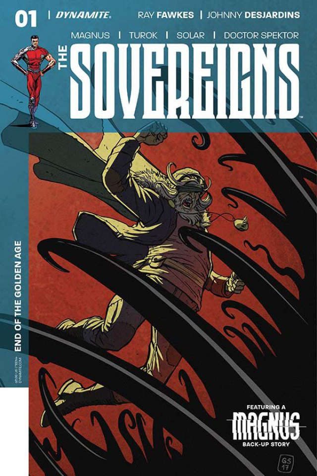 The Sovereigns #1 (Sudzuka Cover)