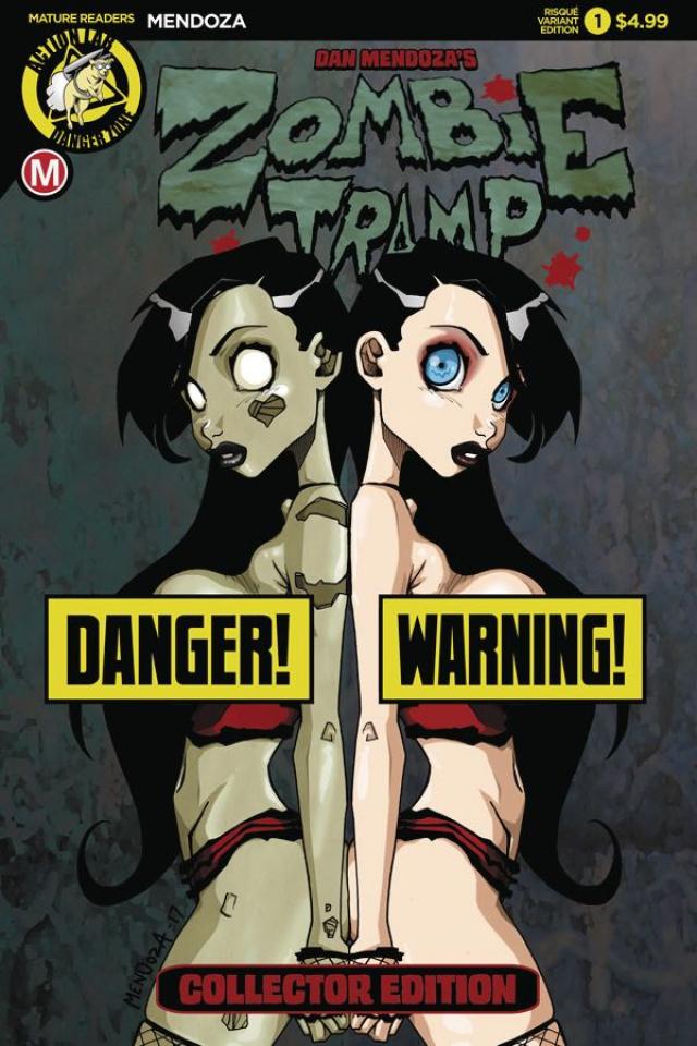 Zombie Tramp: Origins #1 (Mendoza Risque Cover)