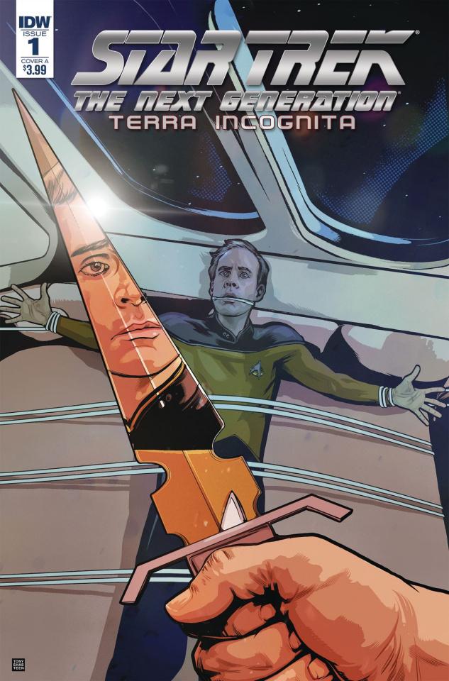 Star Trek: The Next Generation - Terra Incognita #1 (Shasteen Cover)