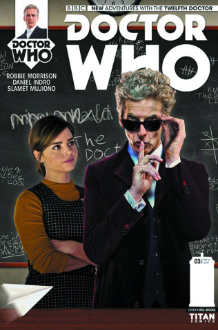 Doctor Who: New Adventures with the Twelfth Doctor, Year Two #3 (Photo Cover)