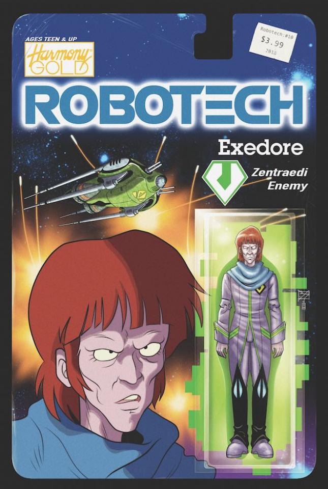 Robotech #10 (Action Figure Cover)