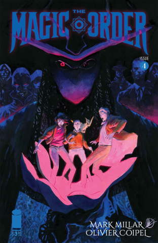 The Magic Order #4 (Scalera Cover)